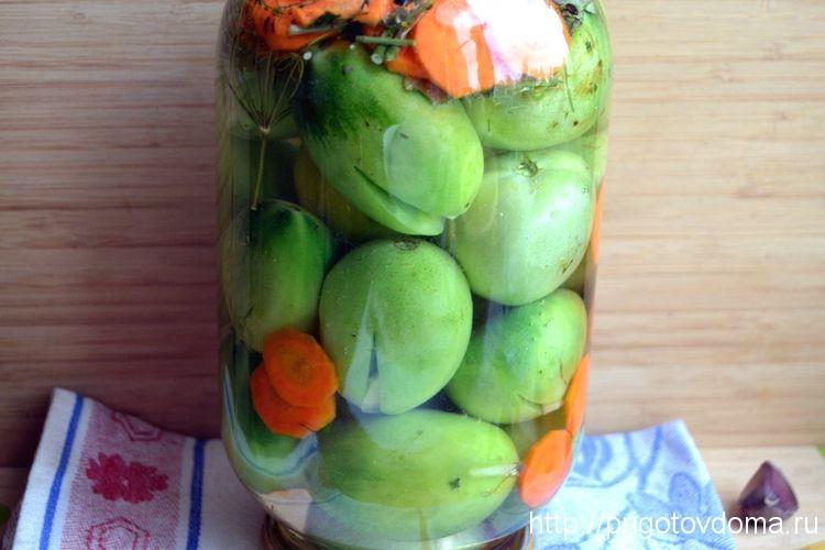 Помидоры лягушата рецепт с фото