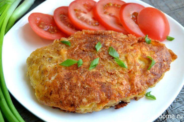 куриное филе в сырной корочке в духовке