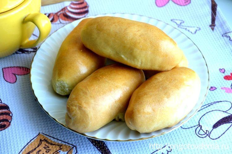 Пирожки готового теста рецепты фото