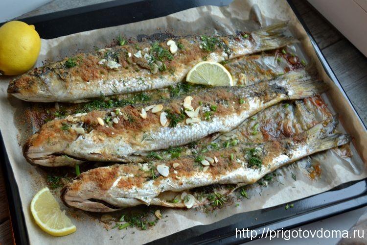 кефаль рыба в духовке рецепты с фото