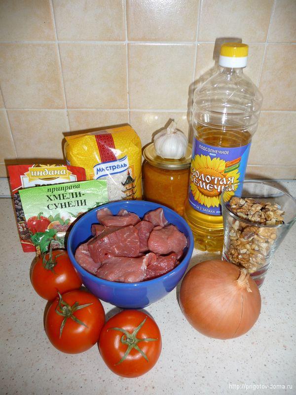 готовим дома суп харчо