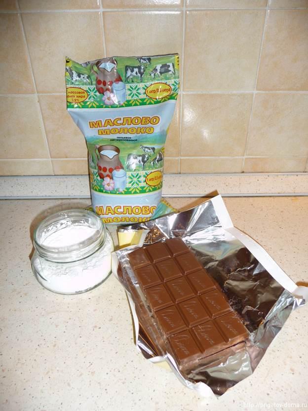 готовим горячий шоколад