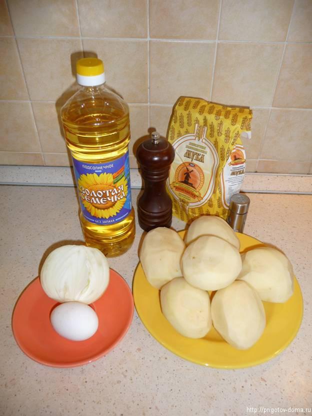 готовим картофельные драники