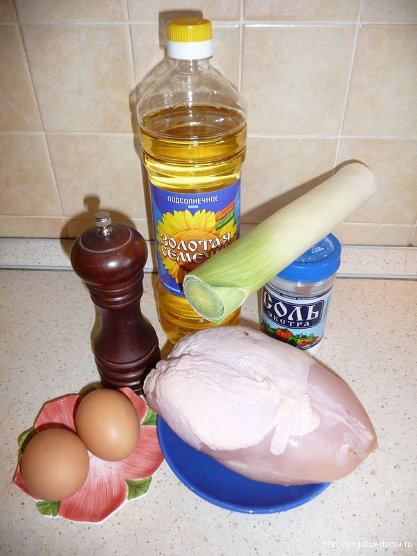 котлеты из куриного филе рецепт