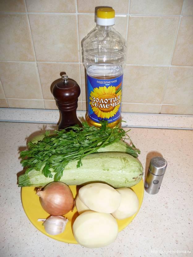готовим суп пюре из кабачков