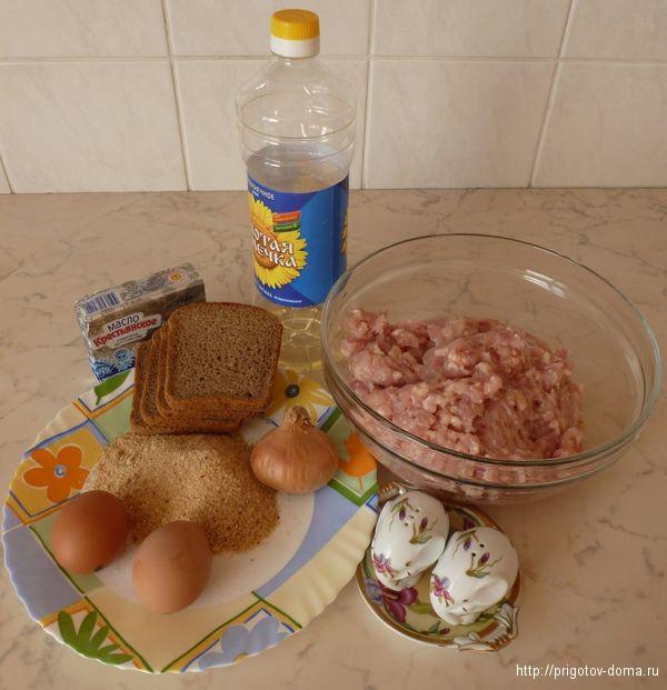 готовим куриные котлеты со сливочным маслом