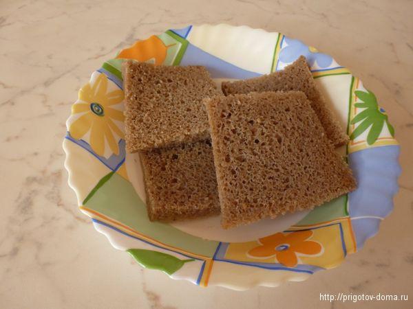 хлеб обрезать от корки