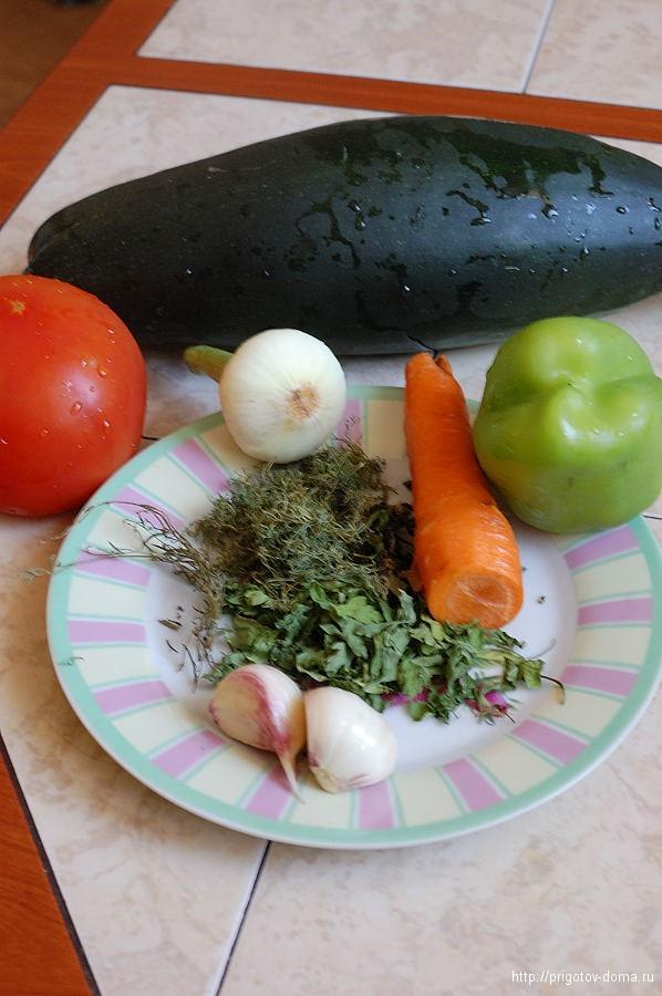 Готовим овощное рагу из кабачков