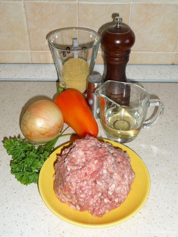 готовим мясные ежики