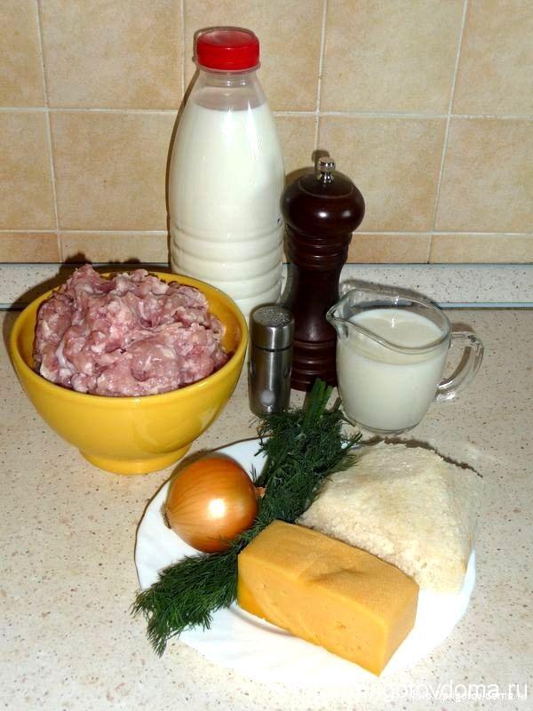 готовим куриные тефтели в сливочном соусе