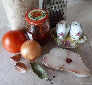 готовим суп из трески с томатом и рисом