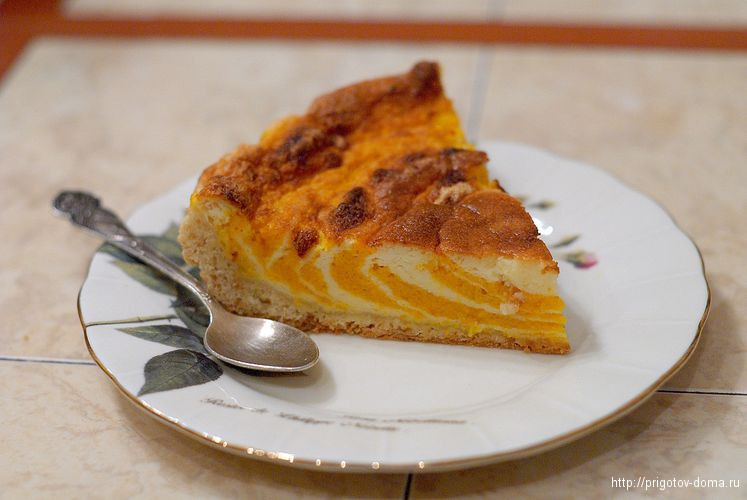 вкусный тыквенный пирог рецепт