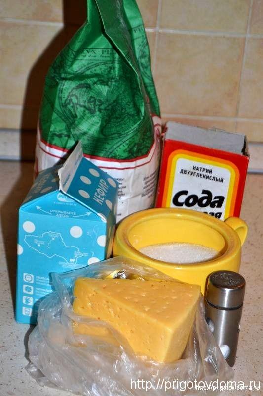выпекаем сырные лепешки