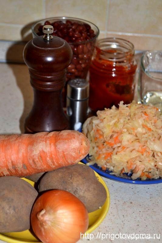 готовим ксилые щи из квашеной капусты
