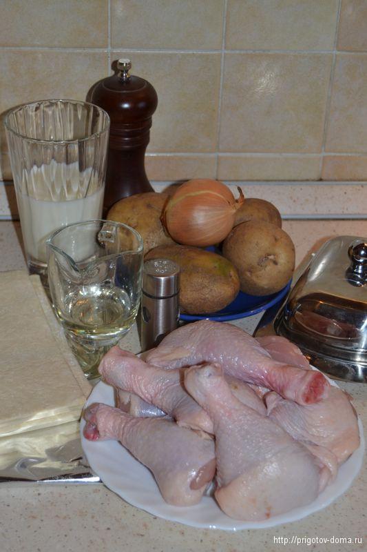готовим рецепт куриные ножки в тесте