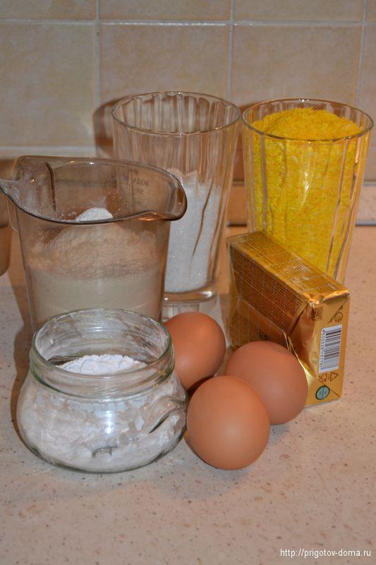 печем печенье с кокосовой стружкой