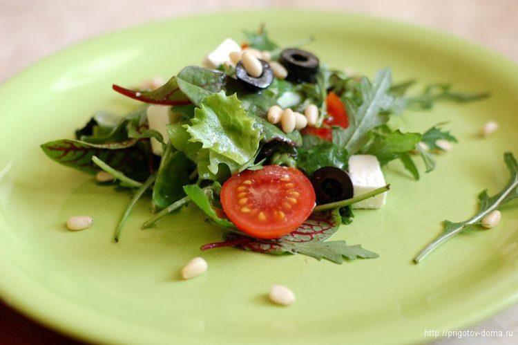 Овощной салат-микс
