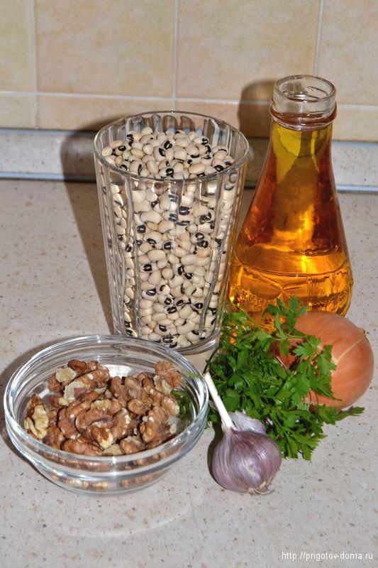 паштет из фасоли готовим рецепт