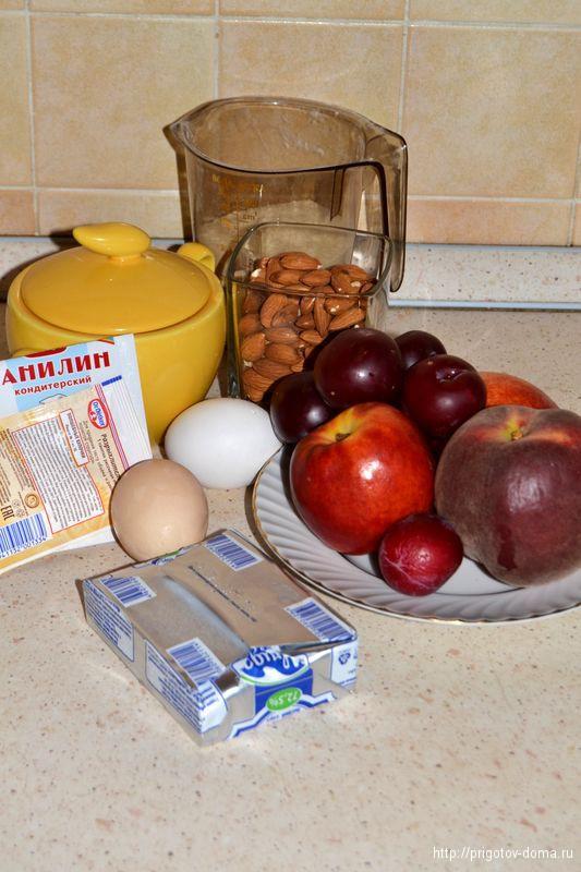 Печем дома фруктовый пирог