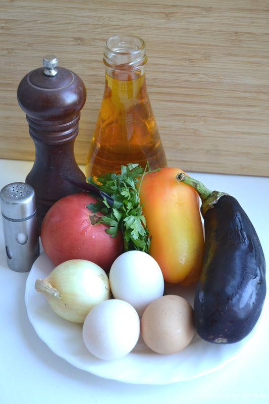 рецепт грузинская яичница