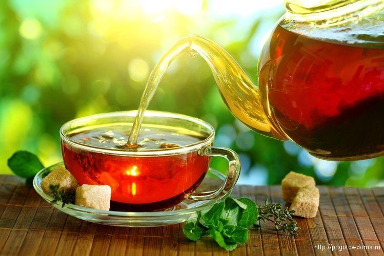 различные вкусные добавки к чаю