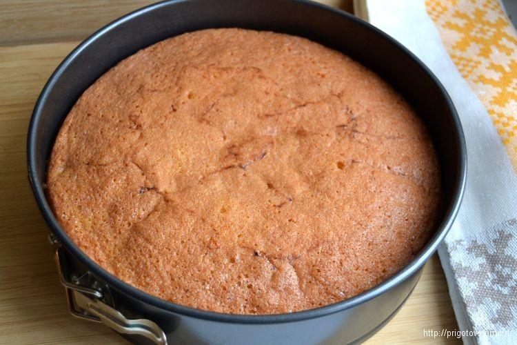 остужаем готовый пирог