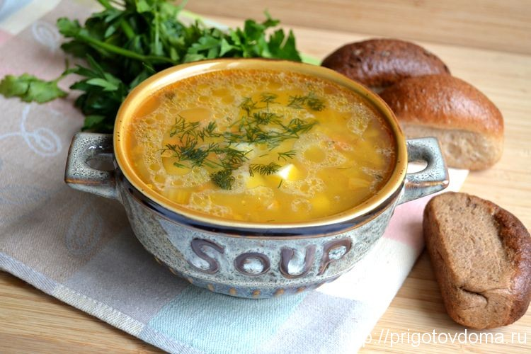 Легкий французский суп