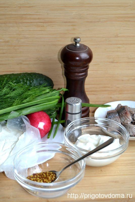 Готовим финский салат