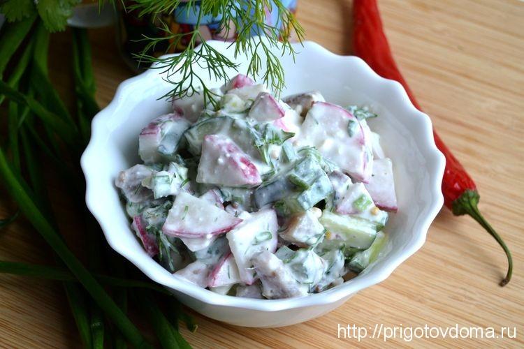 финский селедочный салат