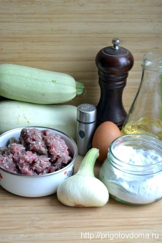 готовим рецепт котлеты из кабачков
