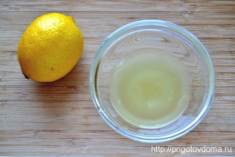 выжимаем цедру лимонв