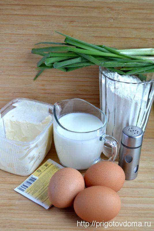 ингредиенты для оладьев