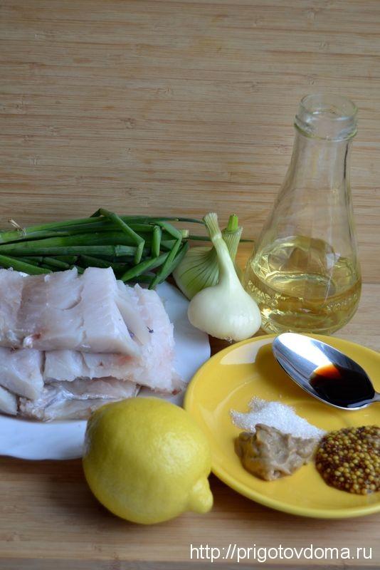 готовим рыбу в соусе