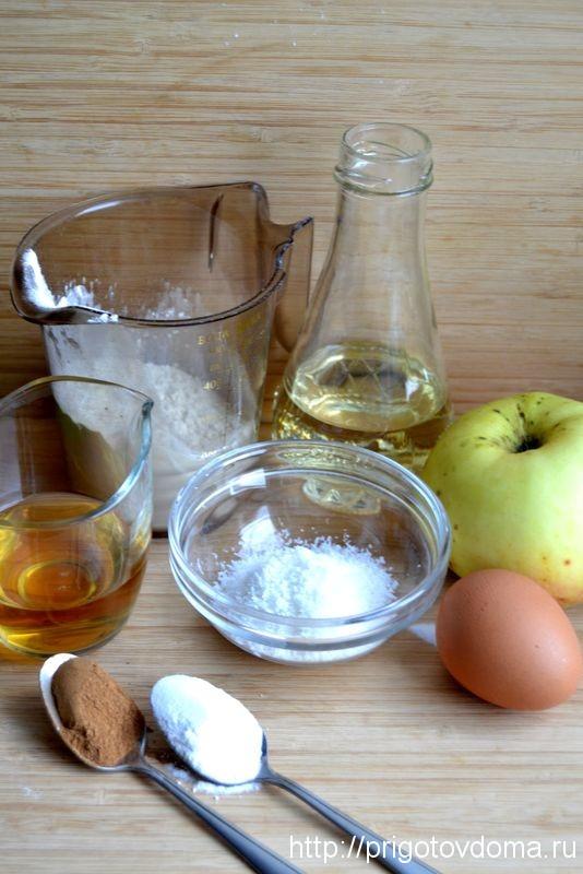Яблочные фриттеры ингридиенты