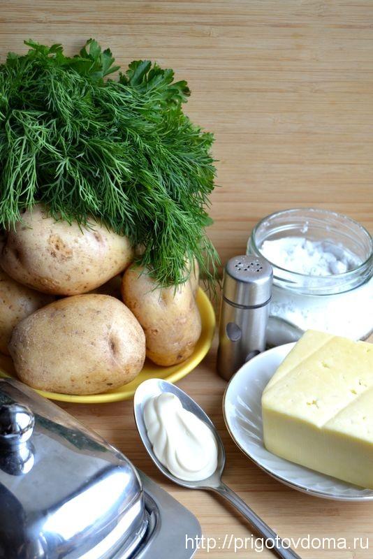 готовим белый картофель