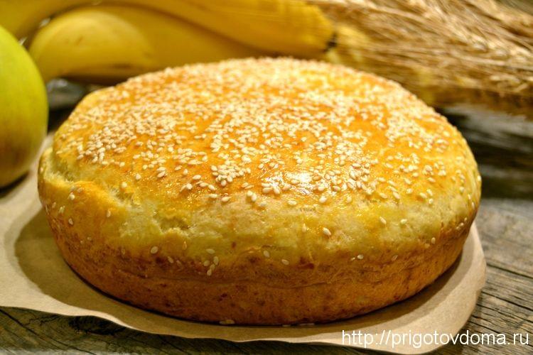 готовый сырный пирог