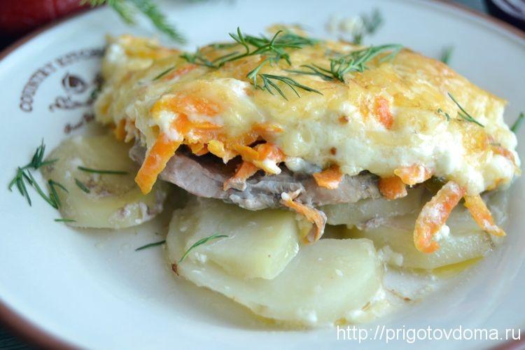 мясо картофель рецепт