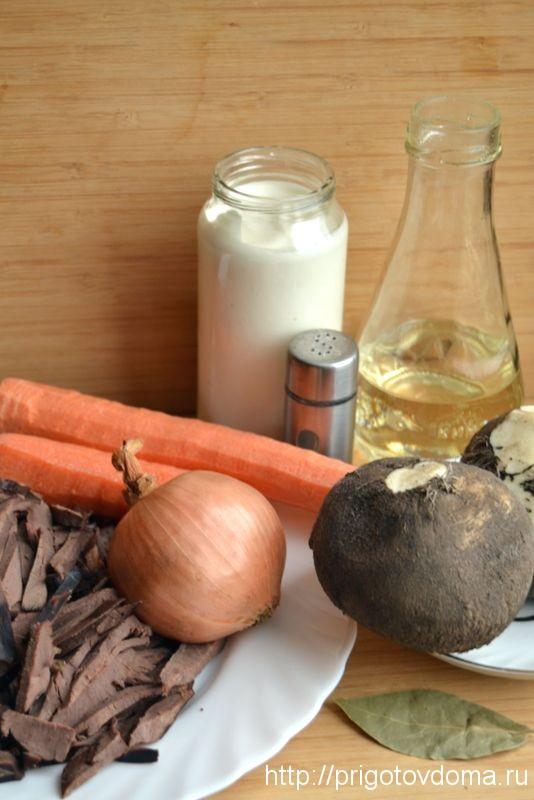 необходимые ингредиенты для салата