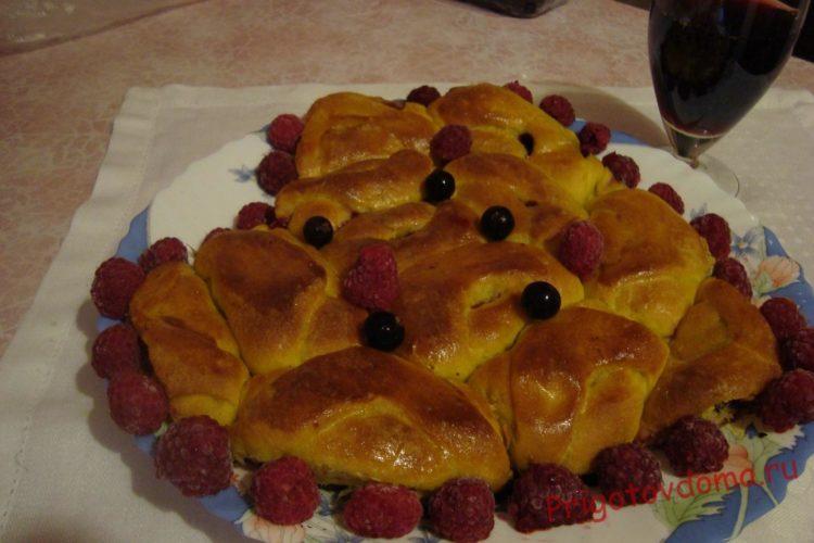 Пирог «Малиновая нежность» на День Святого Валентина