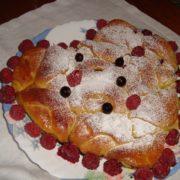 Красивый пирог на День Святого Валентина
