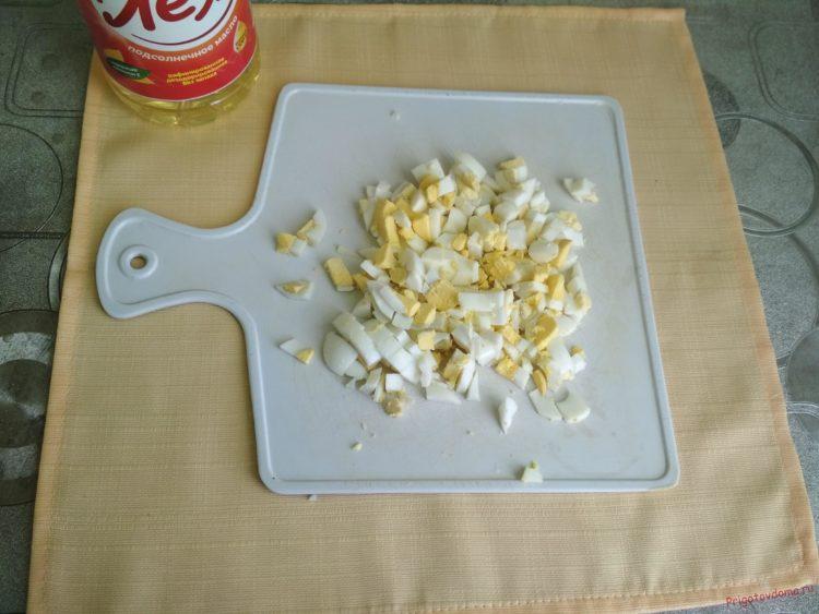 Кулебяка с капустой и яйцом