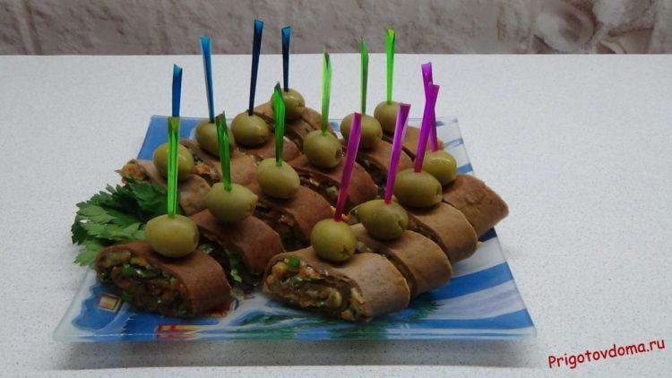 Закуска к Новогоднему столу